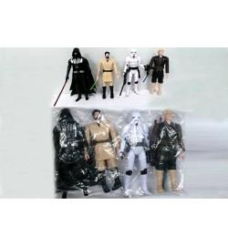 Герои  Star Wars HT15170 (108шт/2) 4 героя, в пакете 15*6 см