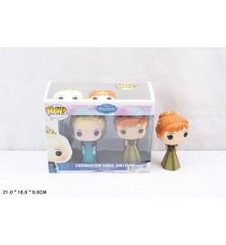 Герои BX6016A (72шт/3) Эльза и Анна, в коробке 21*16*9см кукла