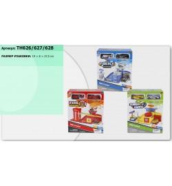 Паркинг TH626/627/628 (1374377/8/9) (72шт/2) 3 вида, в коробке 19*7*27,5см