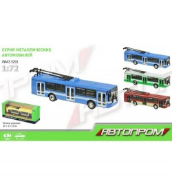 Троллейбус металл 6407ABCD (96шт/4)