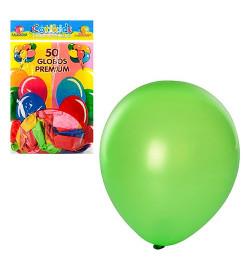 Шарики надувные MK 0012 (100шт) 10 дюймов, микс цветов, 50шт в кульке, 19-28-1см