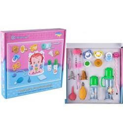 комплект подарунковий:  комплекти дитячі для годування та профілактичних процедур.
