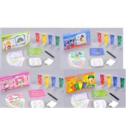 Набор пальчиковых красок FP6801/2/3/4 (72шт/2) в коробке
