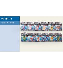Трансформер 99-7B-1-2 (360шт/2) 12 видов, на планшетке 20*16см