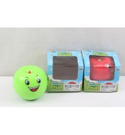 Муз.микрофон яблоко JS-101 (360шт/2) батар.,   в коробке, 9*8*7 см