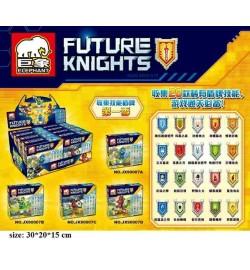 Конструктор ELEPHANT JX90007 FUTURE Knights 4в.8шт.41-47дет.кор.32*14,5*19,5 ш.к./24/192/