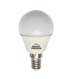 Лампа RIGHT HAUSEN LED ШАР 7W E14 4000K, G45  HN-155030 (100шт)