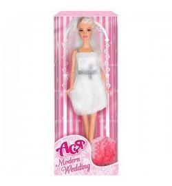 Кукла Ася 'Модная свадьба'; 28 см; блондинка; вариант 1