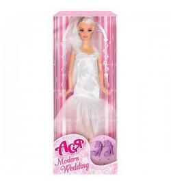 Кукла Ася 'Модная свадьба'; 28 см; блондинка; вариант 2