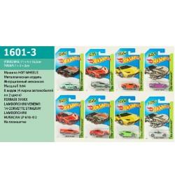 Машина  1601-3 (360шт/2) М 1:64, на планшетке 16,5*11,5*3см