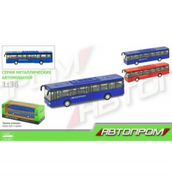 Автобус металл 7784 (192шт/2)