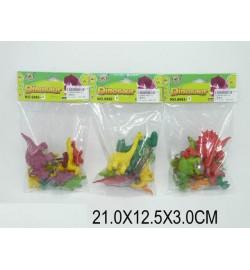 Животные 666I-8 (1229669) (360шт/2) 3 вида,в пакете 21*12,5*3см