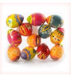 Мяч детский фомовый MS 0733 (360шт) яйцо, 6см, 12шт в кульке, 19-16-4см