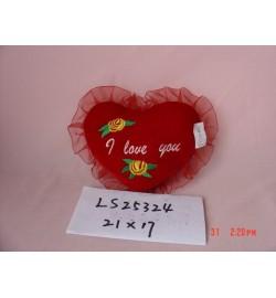 LS25324 сердце большое (роза) муз./148/