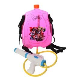 Водяной автомат M 3089 (24шт) с баллоном на плечи, в кульке, 31-39-6см
