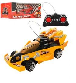 Машина 6801A (48шт) р/у,гоночная,17,5см, 1:24, рез.колеса, 2цвета,на бат-ке,в кор-ке, 21,5-16-8,5см