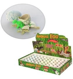 Яйцо 686 (1440шт) 3см, животное-растущее, 60шт(6цветов) в дисплее, 29-18,5-4см