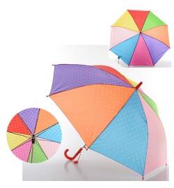 Зонтик детский MK 0517 (60шт) длина55см,трость68см,диам.87см,спица49см,ткань,2цвета