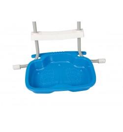 Поддон для лестницы 29080 (12шт) (ванночка для ополаскивания ног), размер 56-46-9см