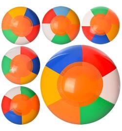 Мяч MSW 023 (600шт) надувной, 18см, микс цветов, в кульке, 6-7см