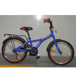 Велосипед детский PROF1 20д. G2033 (1шт) Racer,синий,звонок,подножка