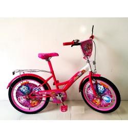 Велосипед 2-х колес 20'' 172026 (1шт) со звонком,зеркалом,руч.тормоз,без доп.колес