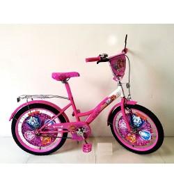 Велосипед 2-х колес 20'' 172027 (1шт) со звонком,зеркалом,руч.тормоз,без доп.колес