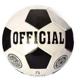 Мяч футбольный EN-3226 (30шт) размер 5, ПВХ 1,6мм, 260-280г, в кульке,