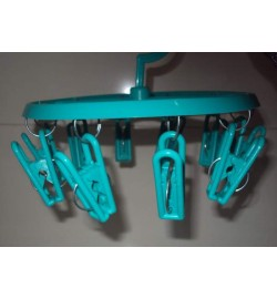 Вертушка пластик с прищепками маленькая ПП-ВМ (40шт)