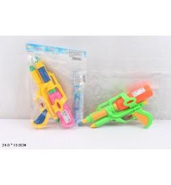 Водный пистолет 666D (288шт/2) 2 цвета, в пакете 24*13см