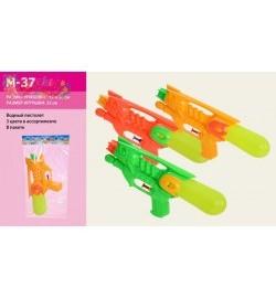Водный пистолет M-35 (576шт/2) 3 цвета, 17см, в пакете 14*25см