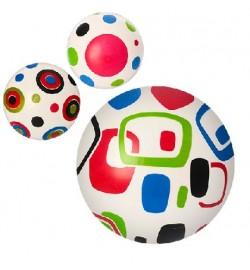 Мяч детский MS 0956 (240шт) 9 дюймов, 3 вида, 60г