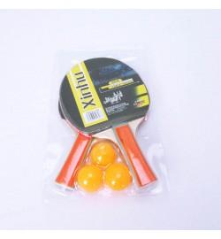 Теннис наст.BT-PPS-0007 ракетки (0,9см,цвет.ручка)+3мяча пласт.ш.к./50/