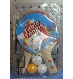 Теннис наст.BT-PPS-0020 ракетки (0,6см)+3мяча+сетка пласт.ш.к./50/