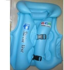 Жилет надувной DL0128 (200шт) размер M 50*37 см в пакете