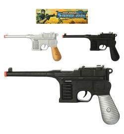 Пистолет 100-6-8-10 (216шт) 3 вида, в кульке, 16-30-2,5см