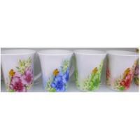 Чашка фарфоровая 9*10.3см R16825 (72шт)