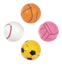 BW Мяч 31004 (36шт) Виды спорта, 41см, 4 вида,