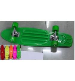 Скейт BT-YSB-0013 пластик.PVC колеса 68*19см 2кг 6цв.ш.к./8/