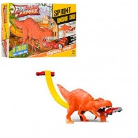 Трек WZ010-12 (48шт) динозавр,148-10-22см,машинка-металл,в кор-ке, 40-24-6,5см