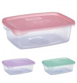 Контейнер пластиковый для пищевых продуктов 1,0л прямоугольный PT-82415 (90шт)