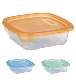 Контейнер пластиковый для пищевых продуктов 700мл квадратный PT-82293 (100шт)