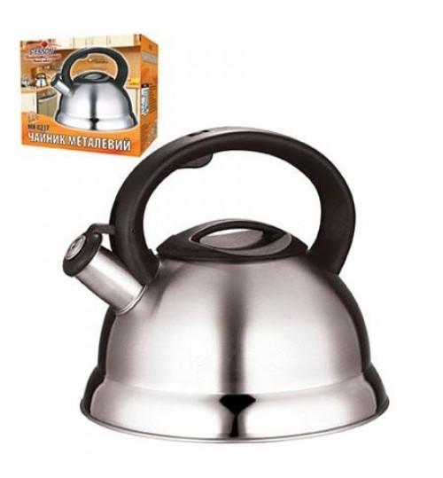 Чайник SS 3.0л двойное дно МH-0237 (12шт)