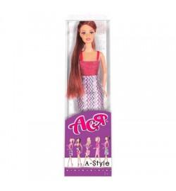 Кукла Ася 'А-Стиль'; 28 см; брюнетка; вариант 5