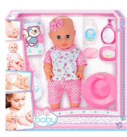Кукла 32см с набором по уходу