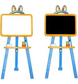 Мольберт для малювання магнітна 013777/7 помаранчево-голубий