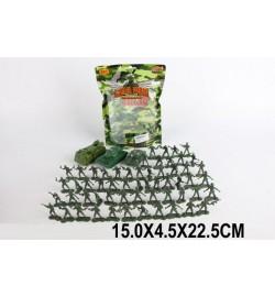 Военный набор 521-5 (1547001) (288шт/2) солдатики, в пакете 15*4,5*22,5см