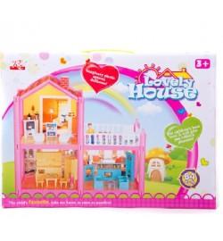 Кукольный дом 952 с куклами,мебелью кор.38*6*28 ш.к./36/
