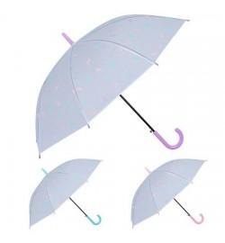 Зонт-трость полуавтомат ПВХ