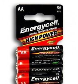 Батарейка . Energycell Heavy Duty R6, АА, 4шт миниблистер 1200/60